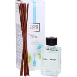 Yankee Candle Clean Cotton Aroma Diffuser mit Nachfüllung 170 ml Décor