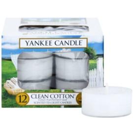 Yankee Candle Clean Cotton vela de té 12 x 9,8 g