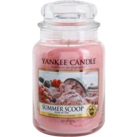 Yankee Candle Summer Scoop illatos gyertya  623 g Classic nagy méret