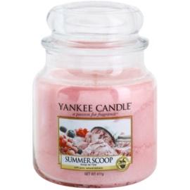 Yankee Candle Summer Scoop lumanari parfumate  411 g Clasic mediu