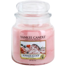 Yankee Candle Summer Scoop illatos gyertya  411 g Classic közepes méret