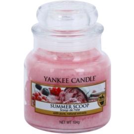 Yankee Candle Summer Scoop illatos gyertya  104 g Classic kis méret