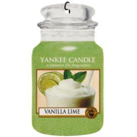 Yankee Candle Vanilla Lime vůně do auta 1 ks závěsná