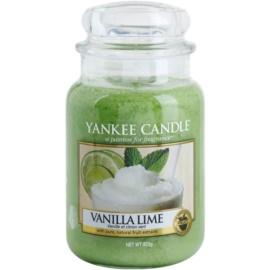 Yankee Candle Vanilla Lime vela perfumado 623 g Classic grande