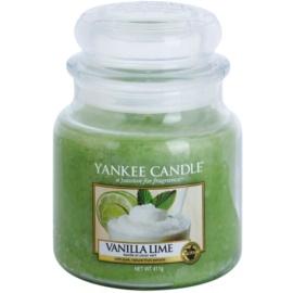 Yankee Candle Vanilla Lime świeczka zapachowa  411 g Classic średnia