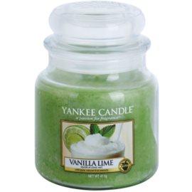 Yankee Candle Vanilla Lime vela perfumado 411 g Classic médio
