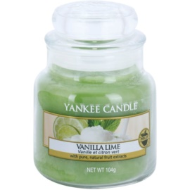 Yankee Candle Vanilla Lime vela perfumado 104 g Classic pequeno