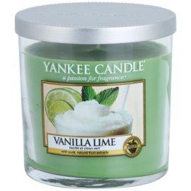 Yankee Candle Vanilla Lime ароматна свещ  198 гр. Décor малка