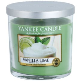 Yankee Candle Vanilla Lime ароматна свещ  198 гр. Décor малка