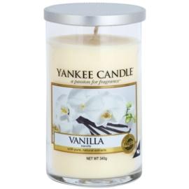 Yankee Candle Vanilla Duftkerze  340 g Décor mittel