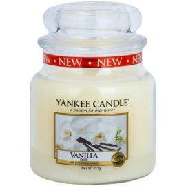 Yankee Candle Vanilla vonná svíčka 411 g Classic střední