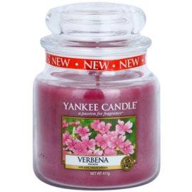 Yankee Candle Verbena vonná svíčka 411 g Classic střední