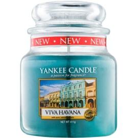 Yankee Candle Viva Havana vonná sviečka 411 g Classic stredná