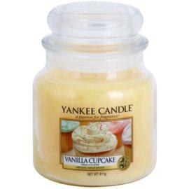 Yankee Candle Vanilla Cupcake ароматна свещ  411 гр. Classic средна