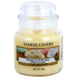Yankee Candle Vanilla Cupcake ароматна свещ  104 гр. Classic малка