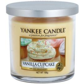 Yankee Candle Vanilla Cupcake vela perfumado 198 g Décor pequena