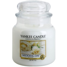 Yankee Candle Wedding Day vela perfumada  411 g Classic mediana