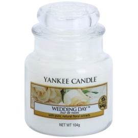 Yankee Candle Wedding Day vela perfumado 104 g Classic pequeno