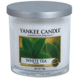 Yankee Candle White Tea Duftkerze  198 g Décor klein