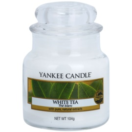 Yankee Candle White Tea vonná svíčka 104 g Classic malá