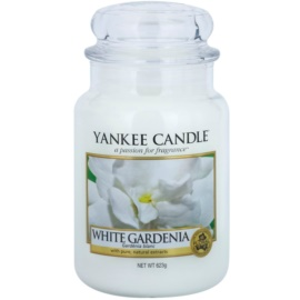 Yankee Candle White Gardenia Duftkerze  623 g Classic groß