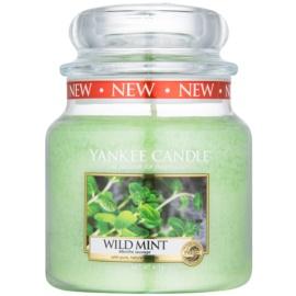 Yankee Candle Wild Mint świeczka zapachowa  411 g Classic średnia