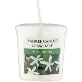 Yankee Candle White Jasmine votívna sviečka 49 g