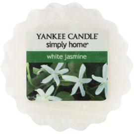 Yankee Candle White Jasmine Wachs für Aromalampen 22 g