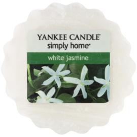 Yankee Candle White Jasmine cera para lámparas aromáticas 22 g