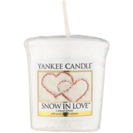 Yankee Candle Snow in Love вотивна свічка 49 гр
