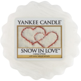 Yankee Candle Snow in Love Wachs für Aromalampen 22 g