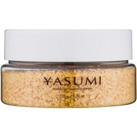 Yasumi Gold Sensation fürdősó pezsgő illattal  220 g