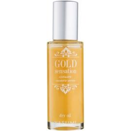 Yasumi Gold Sensation suchý olej so zlatými čiastočkami na tvár, telo a vlasy  50 ml