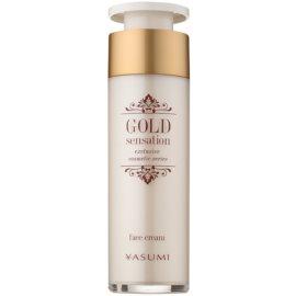 Yasumi Gold Sensation creme facial com partículas de ouro 50+  50 ml
