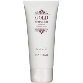 Yasumi Gold Sensation esfoliante facial com partículas de ouro  100 ml
