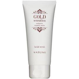 Yasumi Gold Sensation Scrub facial cu particule de aur  100 ml