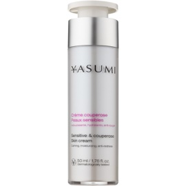 Yasumi Anti-Redness beruhigende Creme für empfindliche Haut mit Neigung zum Erröten  50 ml