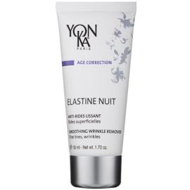 Yon-Ka Age Correction Elastine glättende Nachtcreme gegen Falten und Krähenfüße  50 ml