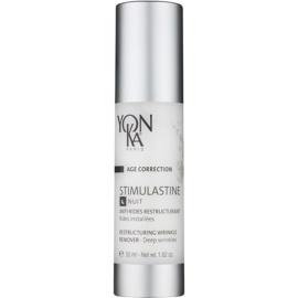Yon-Ka Age Correction Stimulastine crema de noche renovadora  antiarrugas profundas  50 ml