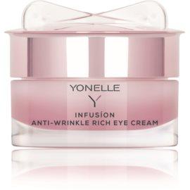 Yonelle Infusion crema antiarrugas de noche para contorno de ojos  15 ml