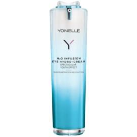 Yonelle H2O Infusion crema hidratante para contorno de ojos antiarrugas y antiojeras  15 ml