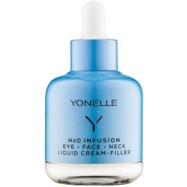 Yonelle H2O Infusion високоефективний рідкий крем проти зморшок для шкіри навколо очей, обличчя та шиї  50 мл