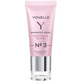 Yonelle Nanodisc Mask Youthful Glow N° 3 intenzivní gelová maska pro osvěžení pleti 40+  35 ml