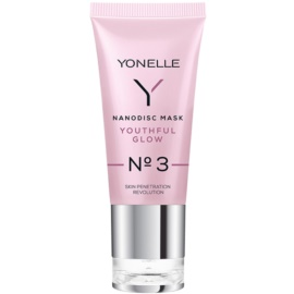 Yonelle Nanodisc Mask Youthful Glow N° 3 intenzívna gélová maska pre osvieženie pleti 40+  35 ml