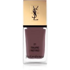 Yves Saint Laurent La Laque Couture Nail Polish Shade 21 Taupe Retro 10 ml