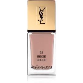 Yves Saint Laurent La Laque Couture Nail Polish Shade 22 Beige Léger 10 ml