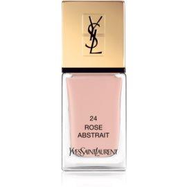 Yves Saint Laurent La Laque Couture Nail Polish Shade 24 Rose Abstrait 10 ml