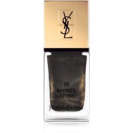 Yves Saint Laurent La Laque Couture Nail Polish Shade 28 Bronze Aztec 10 ml