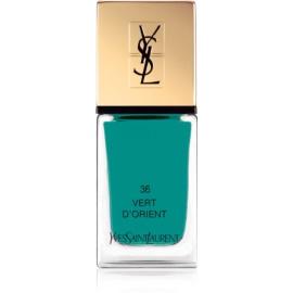 Yves Saint Laurent La Laque Couture Nail Polish Shade 36 Vert D'Orient 10 ml