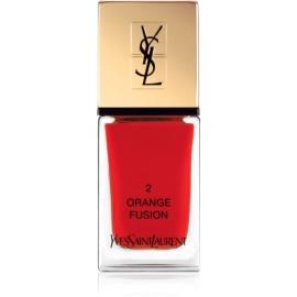 Yves Saint Laurent La Laque Couture Nail Polish Shade 02 Orange Fusion 10 ml